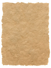 Torn pieces of brown paper texture, please check for similar