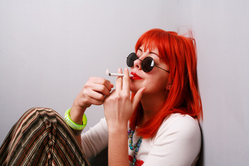 Smoking.....