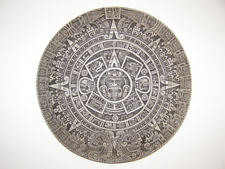 Aztec Calendar, a perfect replica