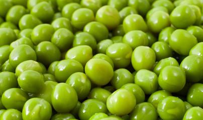 green peas, isometric view