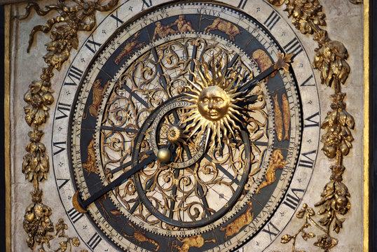 Astronomical clock (close-up)