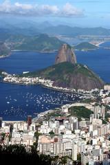 Rio de Janeiro Cityscape (including Sugarloaf Mountain)