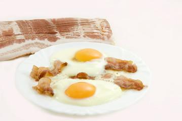 Fond de hotte en verre imprimé Ouf Bacon