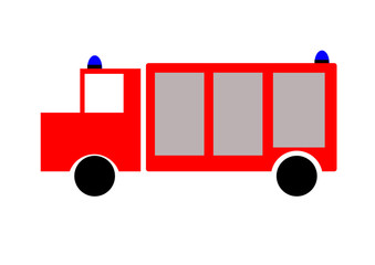 Feuerwehr Fahrzeug Auto lkw