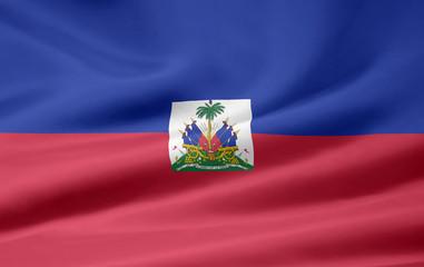 Haitianische Flagge