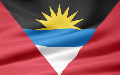 Antigua und Barbuda Flagge