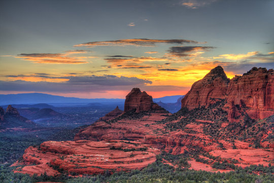 Red Rocks sunset