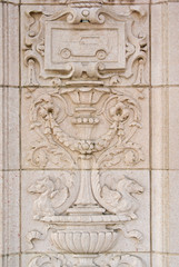 Classical wall decoration - exterior details