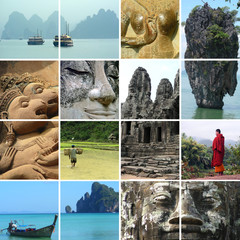 travel in asia - thailand - cambodia