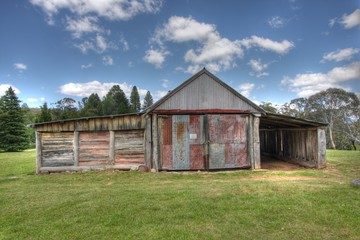 Outside of a Historic Australian Barn