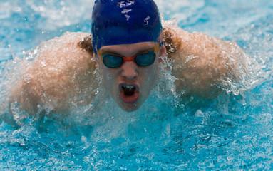 piscine natation jeux olympique nager sportif gagner volonté