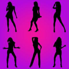 Femmes sexy discothèque