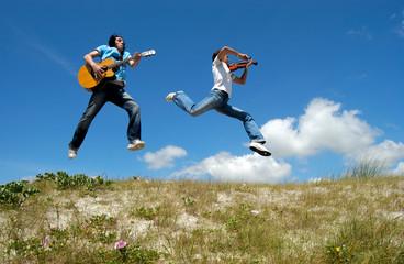 musiciens volants