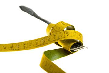 Diet - eat less concept