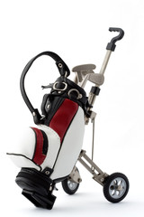 Miniature golf bag