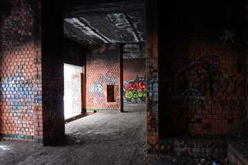 graffiti urban building
