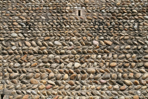 Mur en galet stock photo and royalty free images on - Mur de galet exterieur ...