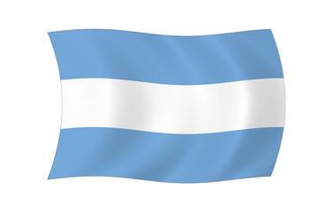Argentinien Flagge
