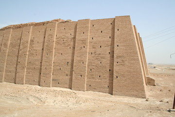 ziggurat wall