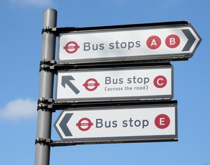 Bus Stop Directions