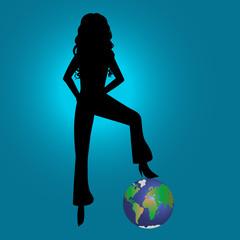 belleza y poder  sobre el mundo