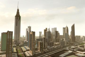 imaginary city 345