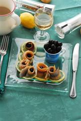 Aringhe alle olive - Antipasto Emilia Romagna