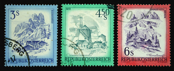 Austrian Postage Stamps