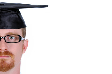 graduation a young man