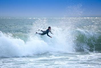 Wellenreiten Missgeschick