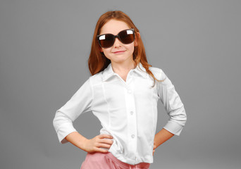 Confident Young Girl