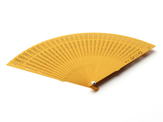 Ordinary wooden fan