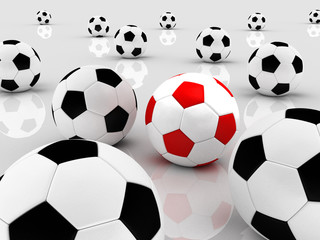 Team of balls