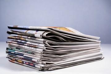pile de journaux régionaux