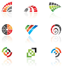 Various logos to go with your company name