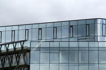 Modern office building fasade