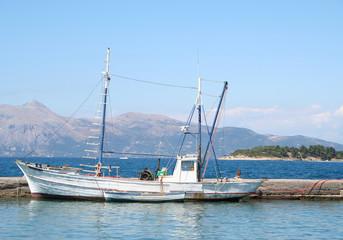 Greek Fishing Boat.