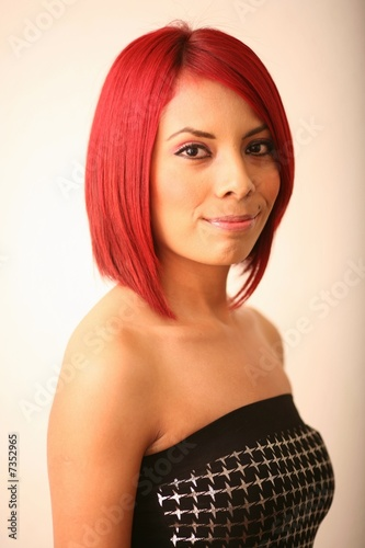 Latinas With Red Hair