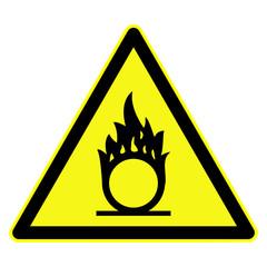 schild brandfoerdernd