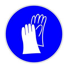 schild handschuhe