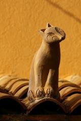 chat en terre