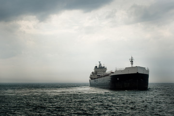 Large Commercial Ship