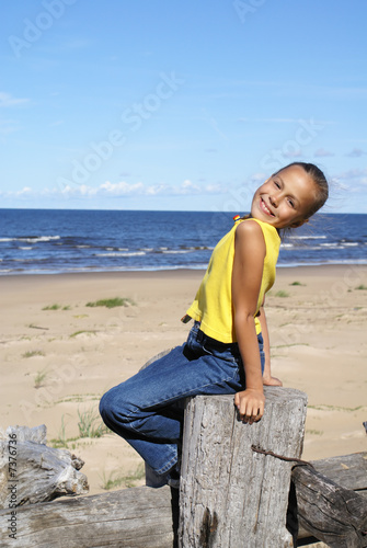 preteen girl on a beach stock photo and royalty free images on rh fotolia com
