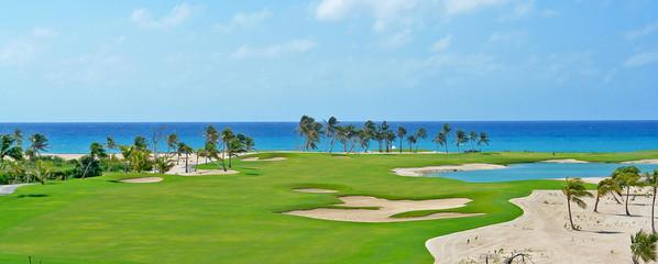 Poster Golf Golf cap cana