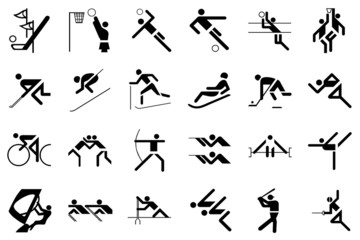 sport games in black