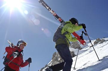Telemark-Skitour in Livigno