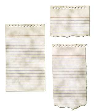 Paper Notepad Collection - Ripped and Dirty