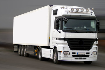 truck on the road 2