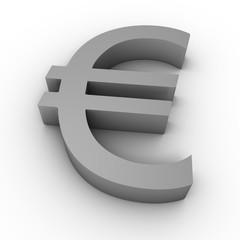 euro 3d symbol
