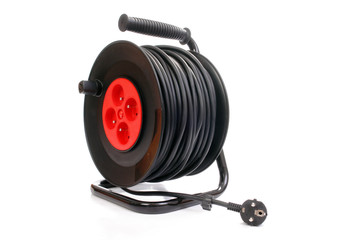 Electrical cable extension reel